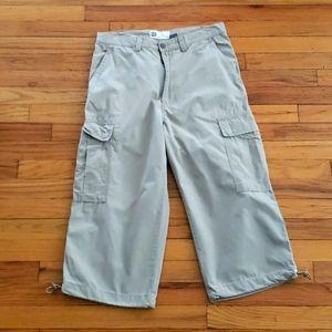 Gap cropped cargo pants
